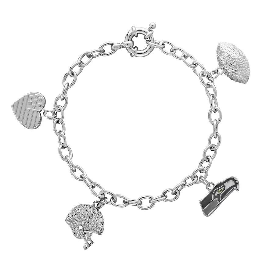 Seahawks Bracelets and Charms