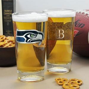 Seattle Seahawks Glassware
