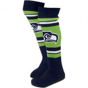 Seattle Seahawks Socks and Slipper Socks