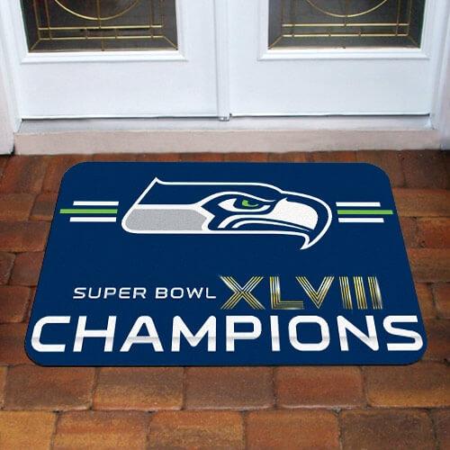 Seattle Seahawks Rugs - Carpets - Mats