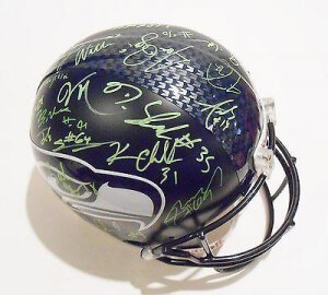 Seattle Seahawks Signed / Autographed Helmets