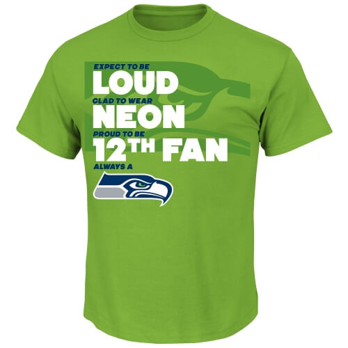 Seattle Seahawks Neon Green Gear