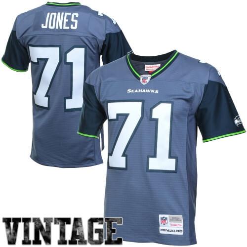 Seahawks Vintage Blue and Green Fan Gear