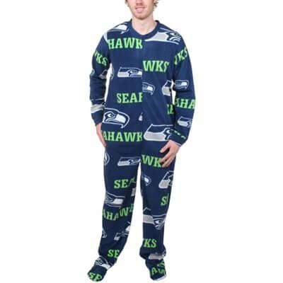 Seattle Seahawks and Mariners Pajamas