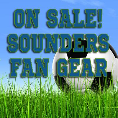 ON SALE! Seattle Sounders FC Fan Gear