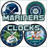 Seattle Mariners Clocks