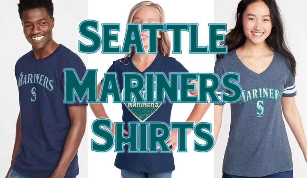Seattle Mariners Shirts and T-Shirts