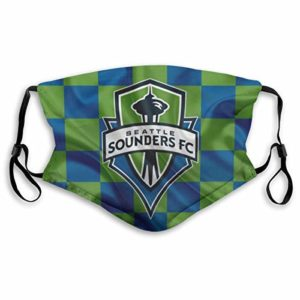 Seattle Sounders FC Face Masks